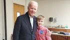 Niño tartamudo agradece a Joe Biden por esto
