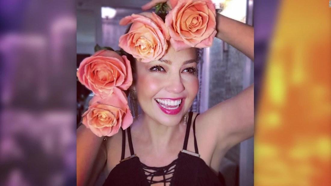 Thalía le da su mejor cara a la vida