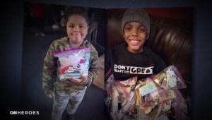 Menores unen esfuerzos para ayudar a los necesitados