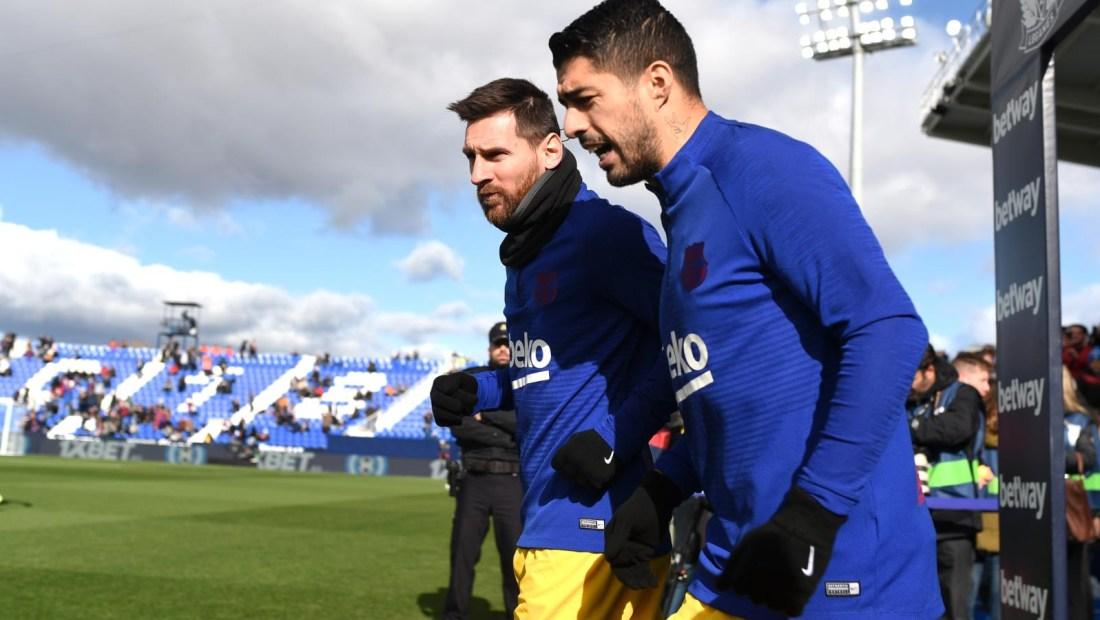 Los 5 grandes socios de Messi en la cancha