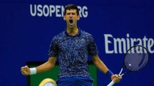 Novak Djokovic confirma que jugará el Abierto de EE.UU.