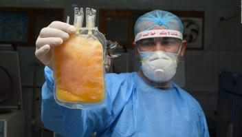 Doctor habla de las dudas en el uso de plasma contra el covid-19