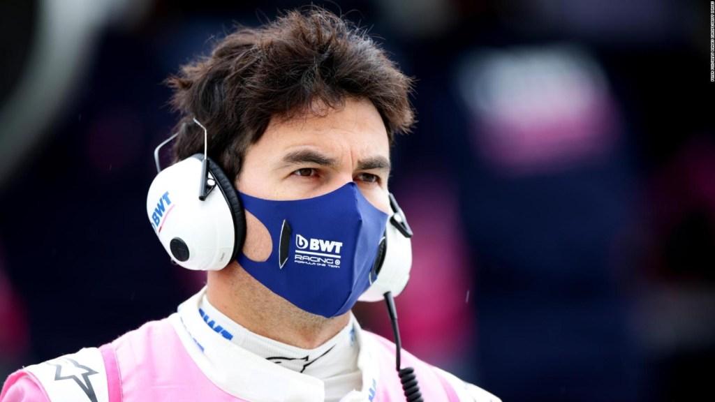 """F1: """"Checo"""" Pérez correrá en Barcelona tras negativo por covid-19"""