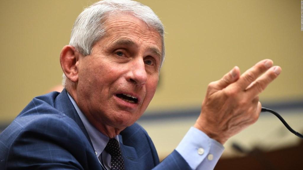 Dr. Fauci: Mi familia ha recibido amenazas de muerte