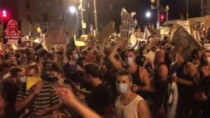 Crece tensión en Israel por protestas contra Netanyahu