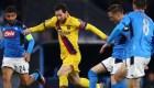 Covid-19: presidente del Napoli prefiere no jugar en Barcelona
