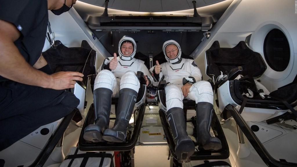 Regresan a la Tierra dos astronautas de la NASA