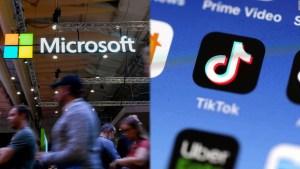 Microsoft analiza comprar TikTok