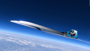 Virgin Galactic anuncia su jet supersónico