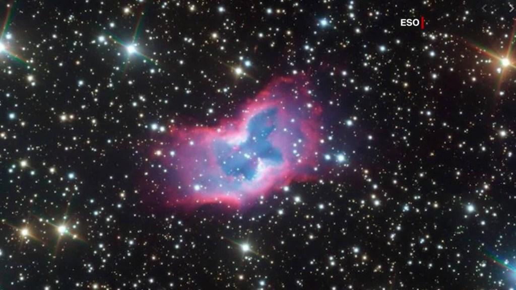 """Astrónomos capturan imagen de una """"mariposa espacial"""""""