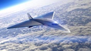 Virgin Galactic revela diseño de su avión supersónico Mach 3
