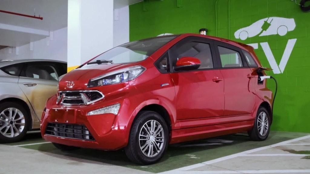 """Kandi presenta el auto eléctrico """"más barato en EE.UU."""