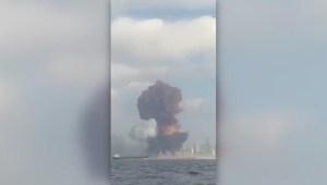 Así fue la explosión que sacudió Beirut