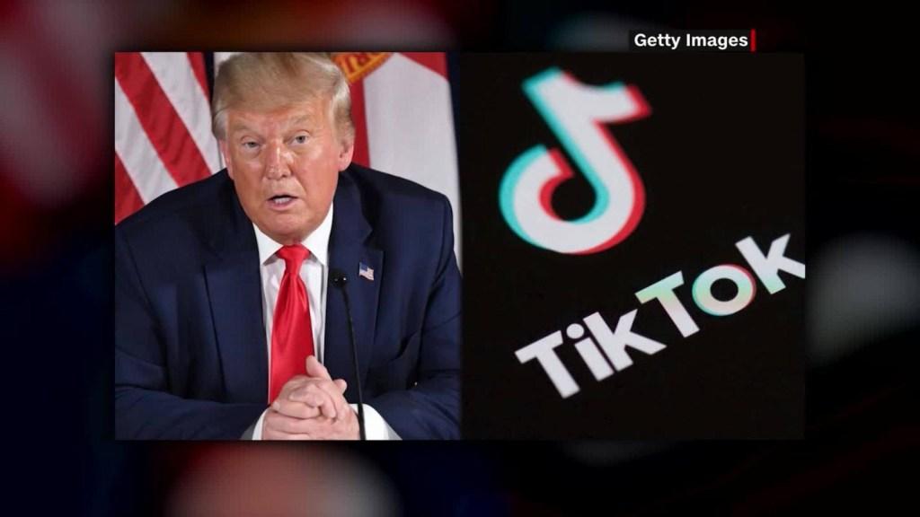 Trump decreta prohibir TikTok si no se vende en 45 días