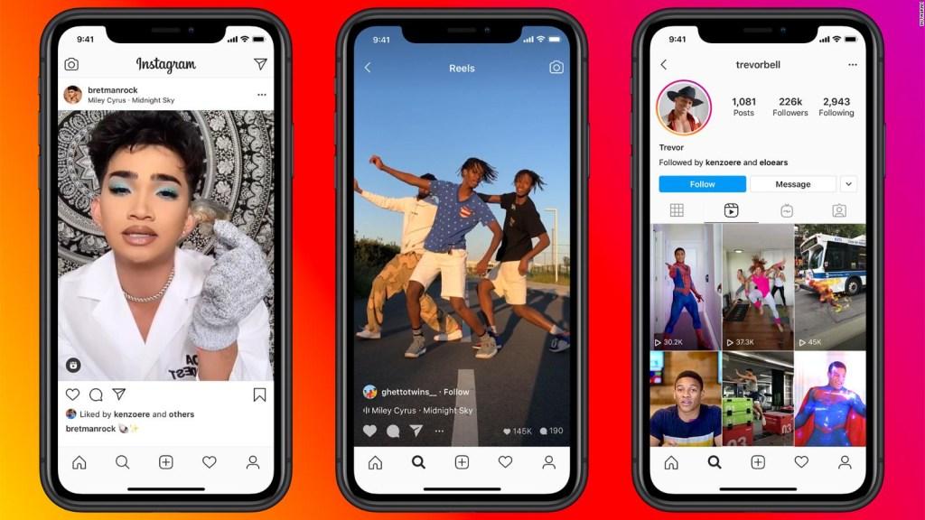Instagram lanza Reels, una copia casi idéntica de TikTok