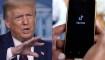 Trump quiere una comisión por la posible venta de TikTok