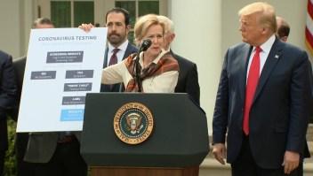 Deborah Birx había escapado de críticas de Trump, hasta ahora