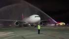 Llegó el primer vuelo comercial a Costa Rica desde cierre por covid-19