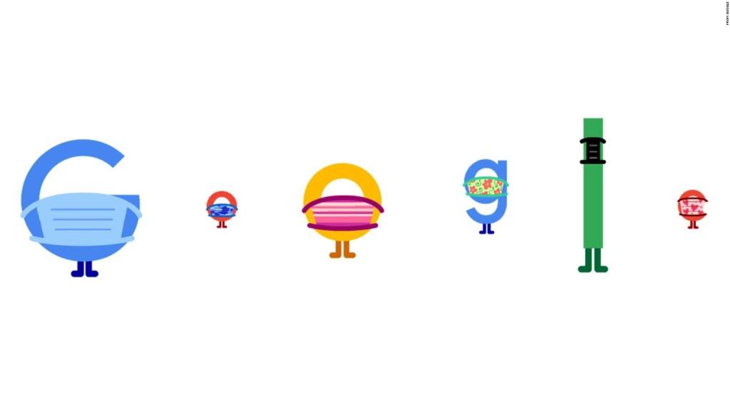 "Google promueve las mascarillas con un ""doodle"""