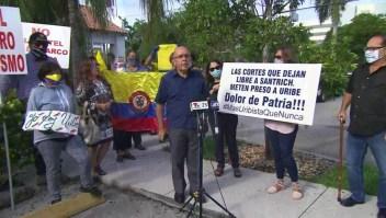 Colombianos en EE.UU. repudian las acciones contra Uribe