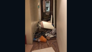 Cómo quedó la Embajada argentina en Beirut tras las explosiones