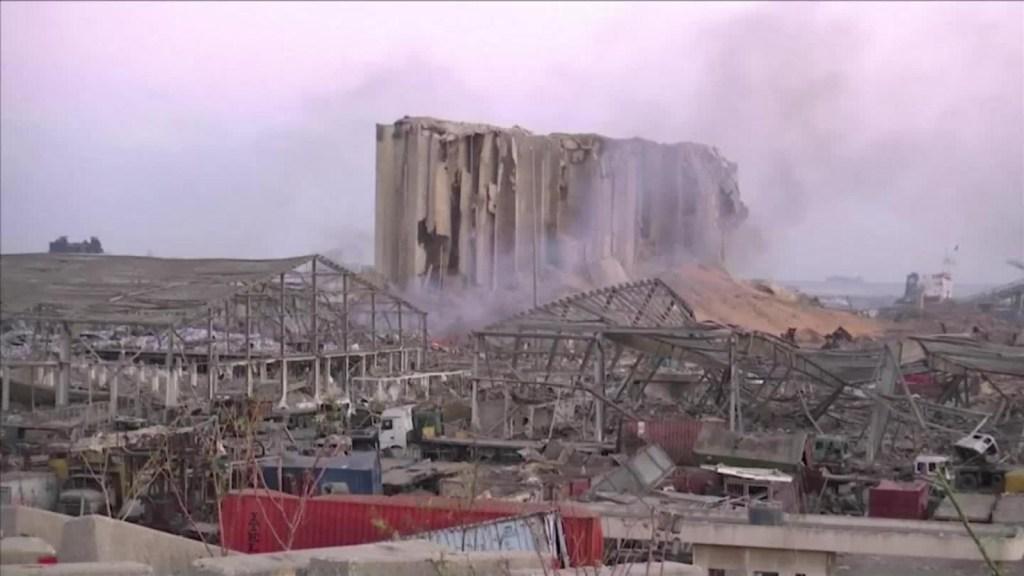Así amanece en Beirut tras la explosión del martes