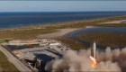 Así fue el vuelo de prueba del prototipo SN5 de SpaceX
