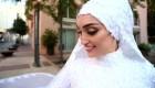 Novia que estuvo en explosión de Beirut cuenta detalles