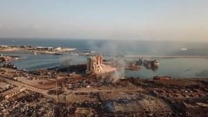 Trump cuestiona la explosión de Beirut