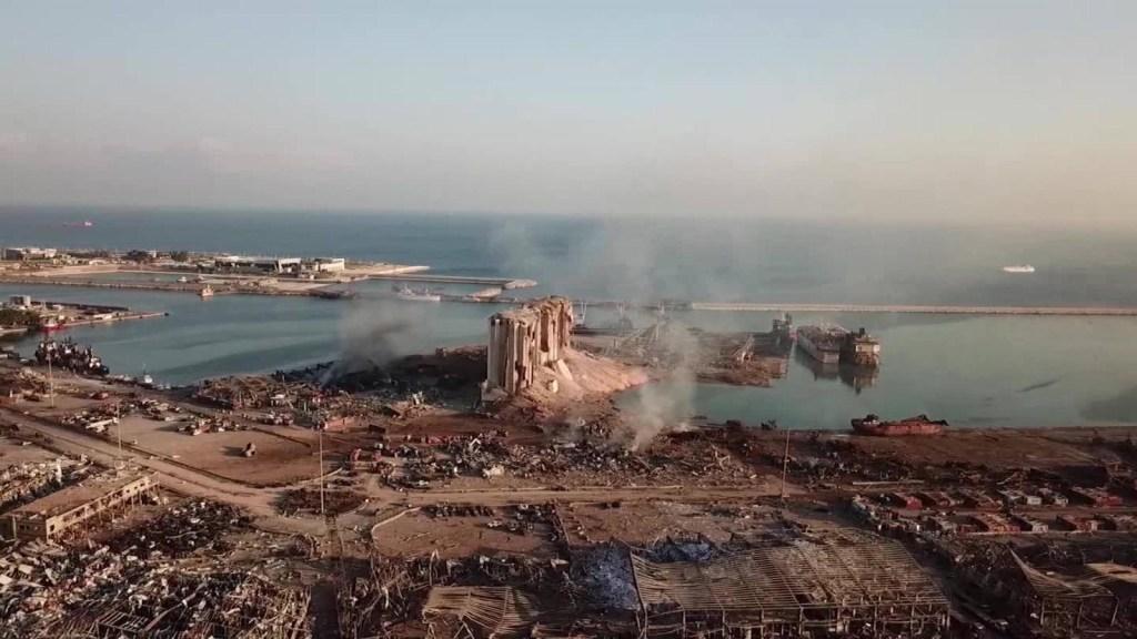 Beirut busca responsables de la gigantesca explosión