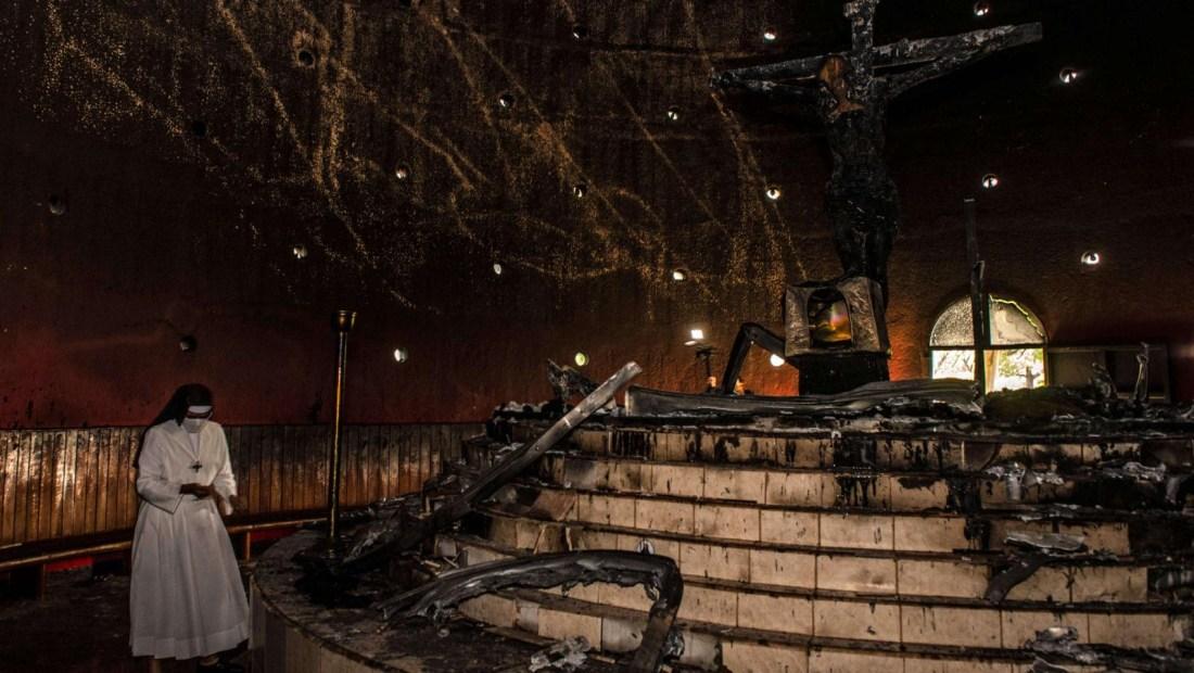 ¿Quién está detrás del incendio en la Catedral de Managua?