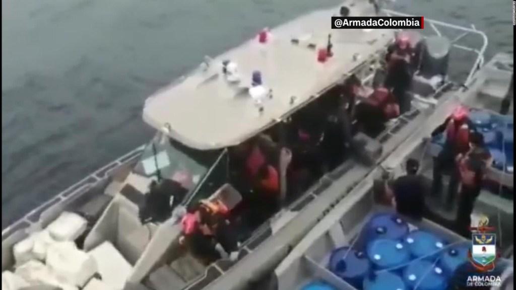Autoridades colombianas incautan casi dos toneladas de cocaína