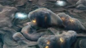"""""""Relámpagos superficiales"""" en Júpiter revelan algo sorprendente"""