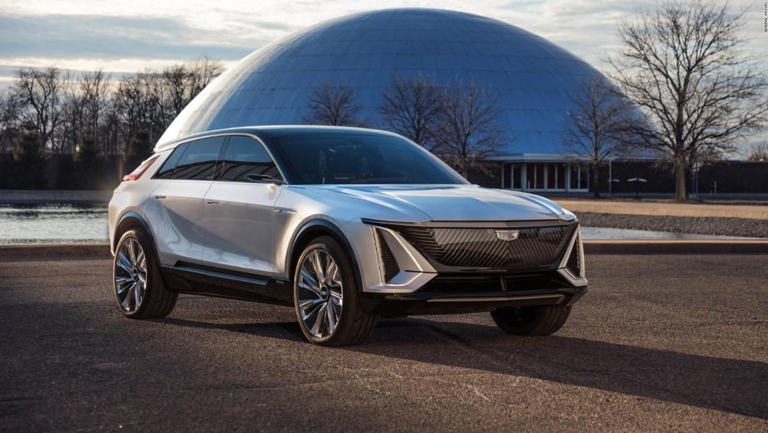 Este es el primer Cadillac totalmente eléctrico