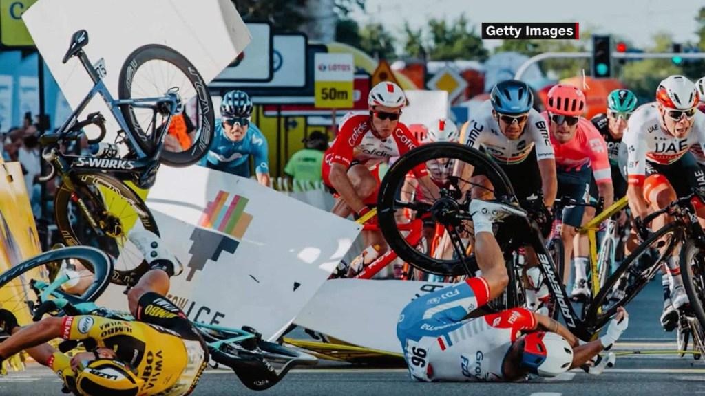 Ciclista holandés, en coma inducido, tras accidente