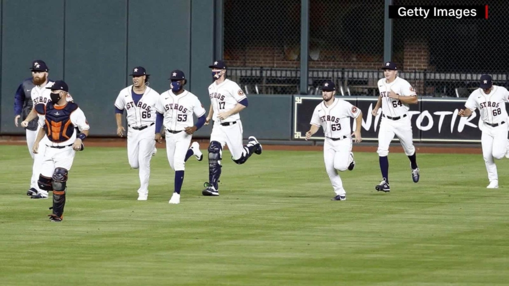 Houston Astros join fight against covid-19 pandemic