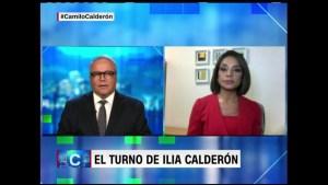Ilia Calderón, una periodista a prueba de todo
