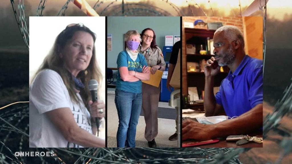 Voluntarios continúan apoyando a reclusos durante la pandemia