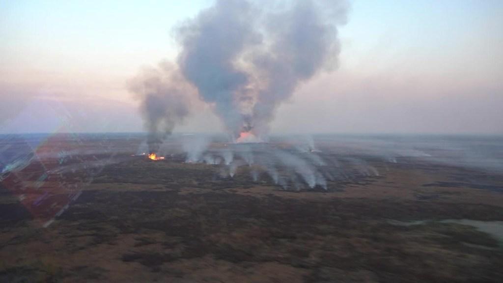 Crisis ambiental por incendios en Argentina