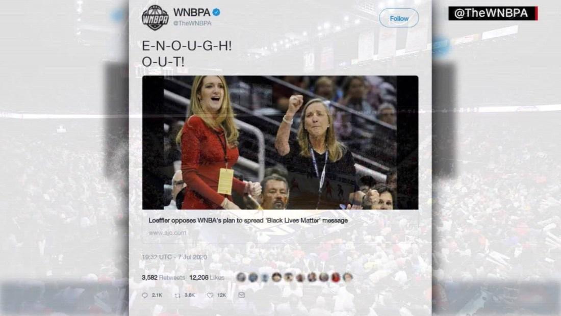 El reclamo de muchas jugadoras en la WNBA