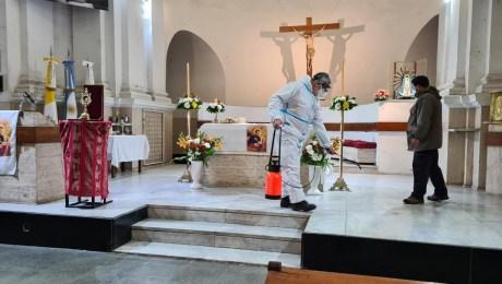 Día de San Cayetano: conmemoración a puerta cerrada