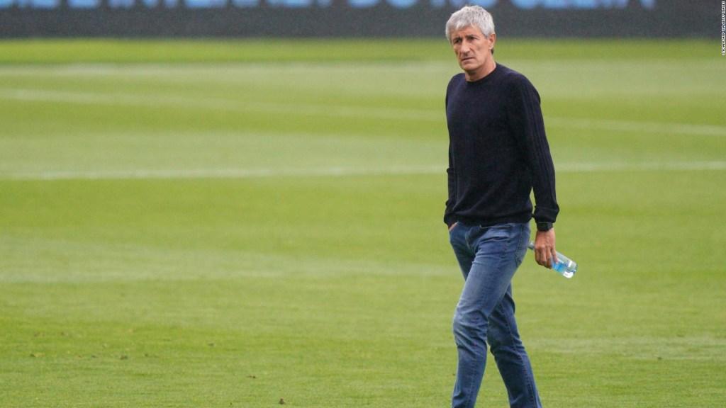Setién: No será mi último partido con el FC Barcelona