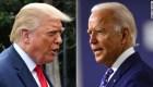Biden lleva 10 puntos sobre Trump a nivel nacional, según encuesta