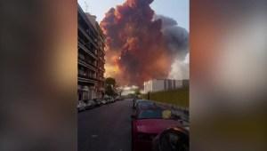Vea las nuevas imágenes de la explosión en el Líbano