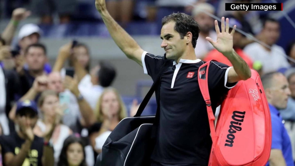 Roger Federer, de manteles largos