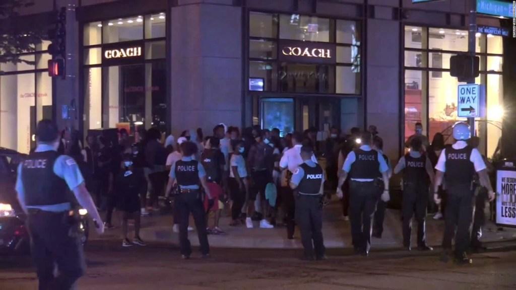 5 cosas: Saqueos en el centro de Chicago