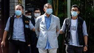 """Arrestan a Jimmy Lai en Hong Kong por """"confabulación"""""""