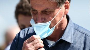 Críticas contra Bolsonaro tras más de 100.00 muertes en Brasil