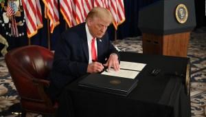 Estos son los cuatro decretos que firmó Trump para alivio económico