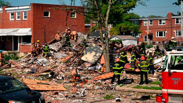 Baltimore explosión